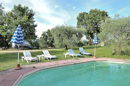 Rural Big Apt in the real Farmhouse - Colle di Val d'Elsa
