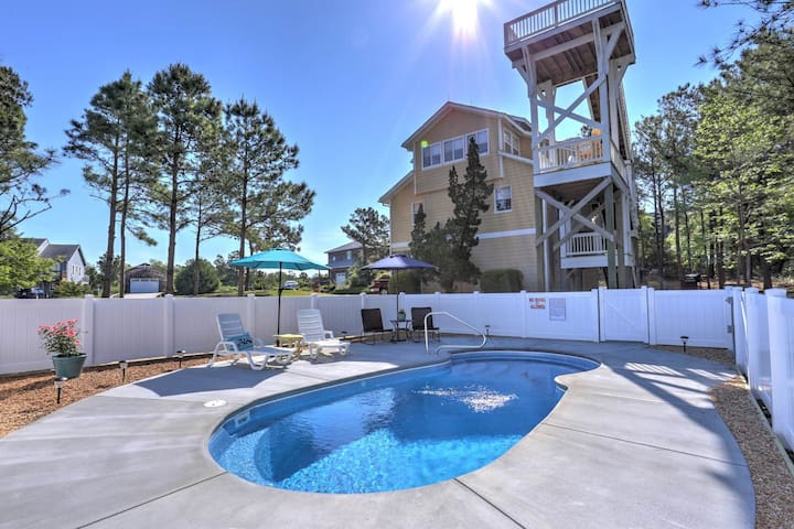 6060 All Decked Out * Private Pool * Widows Walk