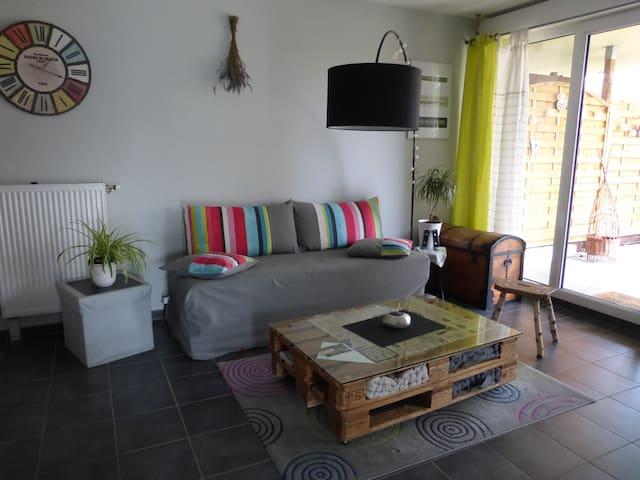 Appartement 2 pièces avec jardin  - Colmar - Huoneisto