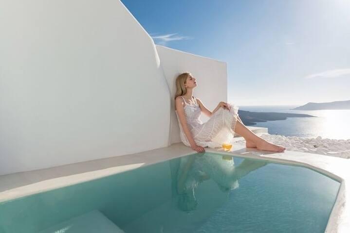 GRANSAN401-1 Honeymoon Villa with outdoor Jacuzzi
