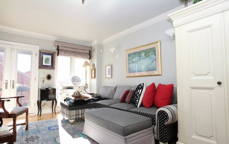 Beautiful 2BR Georgetown Townhouse
