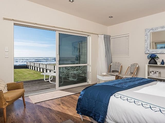 Luxury beachfront  apartment at Waihi Beach. - Waihi Beach - Apartment