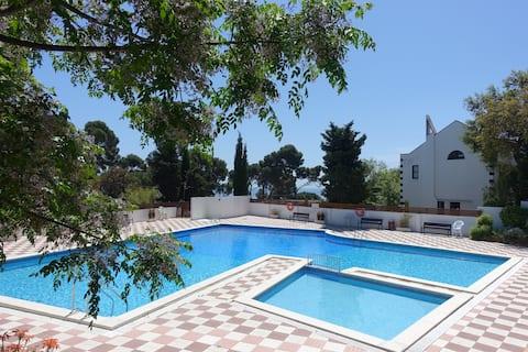 Ferienwohnung mit Pool in Calella de Palafrugell