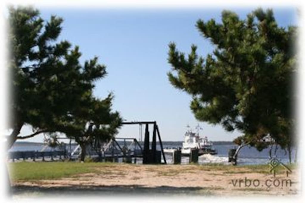 Catch A Ride To Southport  and Oak Island~By Way of Fort Fisher Ferry!
