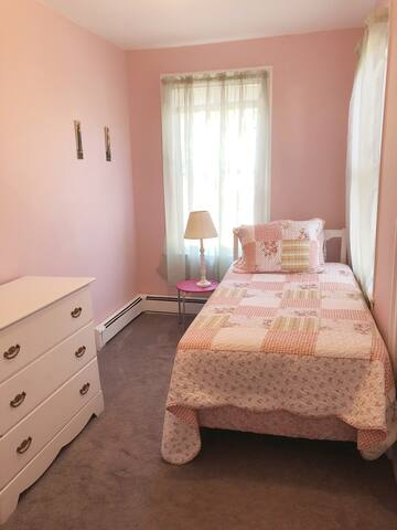 Second room with bed