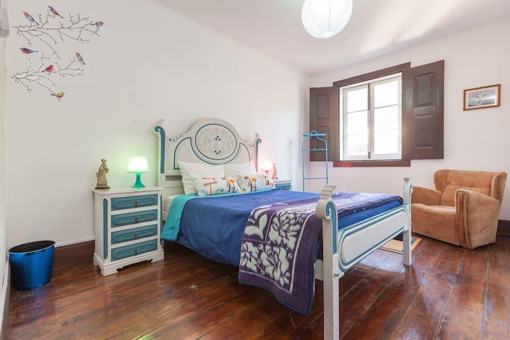 Quarto duplo vista jardim - Braga - Bed & Breakfast