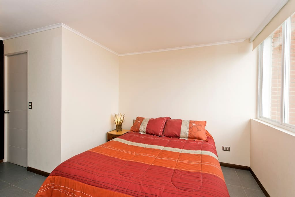 Queen size principal bed