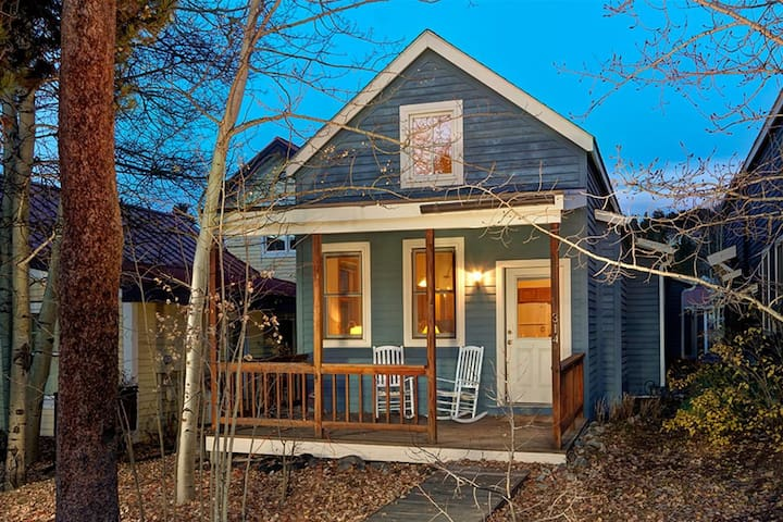 Charming cottage in historic district case in affitto a for Affitto cabina breckenridge co