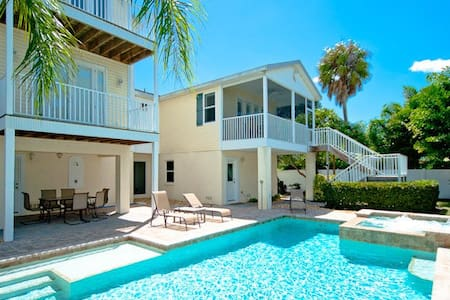 Salty Dogs Beach House on Anna Maria Island