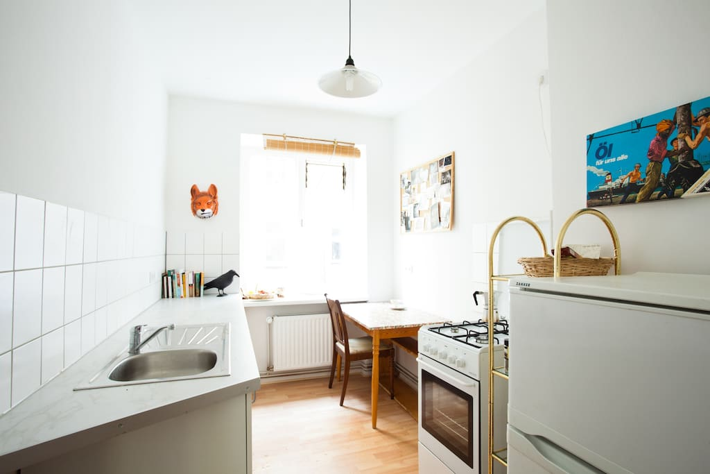 Sunny room, Kreuzberg