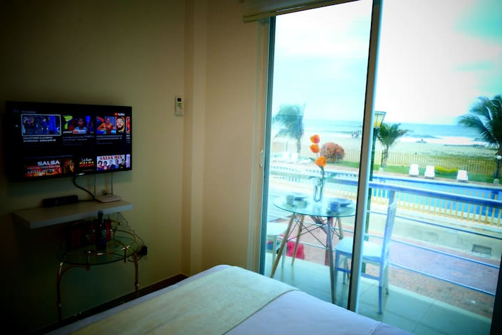 Bedroom # 2. Wonderful balcony with ocean view