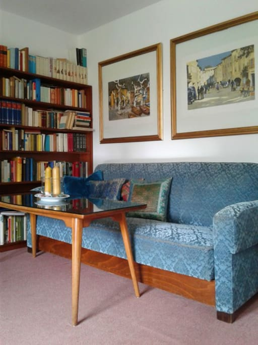 Ausziehcouch in Schlafzimer 1/ Extendible Couch in Sleepingroom 1