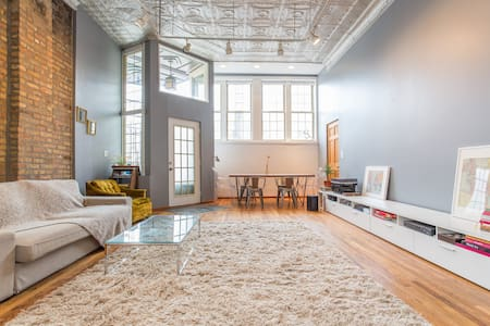 Entire Loft / Vibrant Area - Chicago - Loft