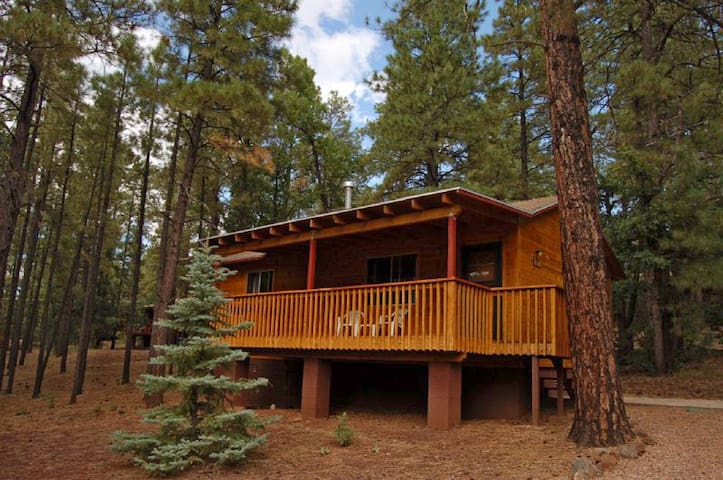 Year-round Cabin in the Pines - Pinetop-Lakeside - Kulübe
