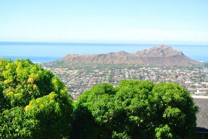 Exceptional Views over Diamond Head