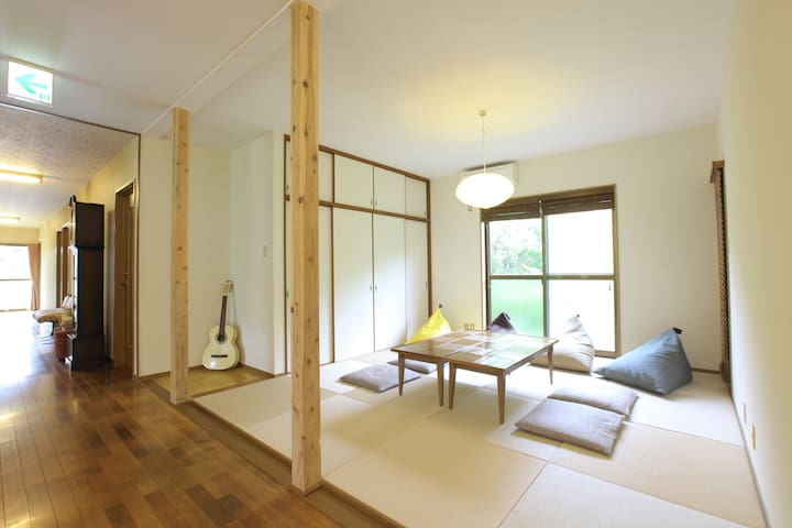GuesthouseSuginoko【JPN style/big room/private bath