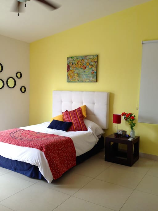 Nice privat Bedroom with privat bath and terrace.