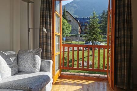 Un apartamento con vistas en la Vall de Boí.