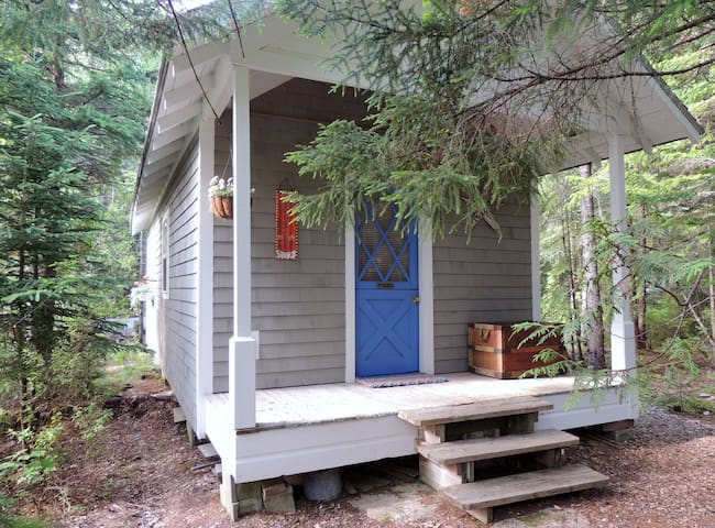 Attractive guest cabin on the ocean - Winter Harbor