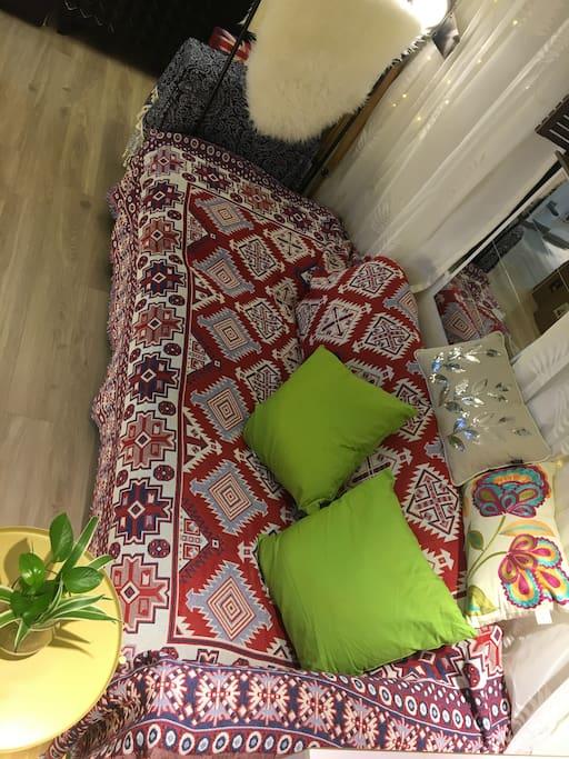 VIMLE IKEA 3 Seats Couch 102 cm x 240cm