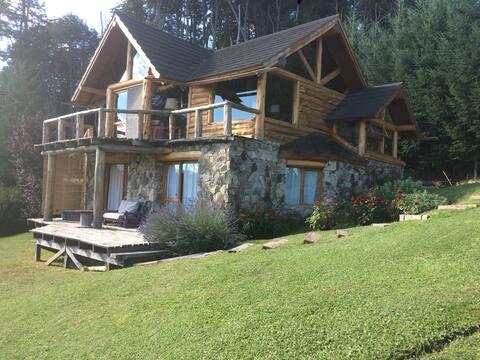 El Descanso B&B-cuarto Verde del lago .
