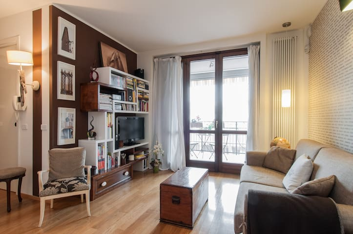 Parking, wi-fi, elevator, fully equipped flat - Milano - Condominio