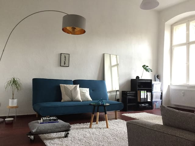 Central cozy quiet appartment with garden