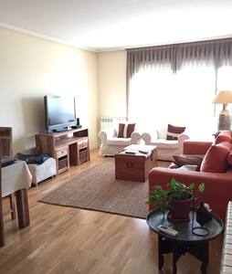 Lightly room with private bathroom - Madrid