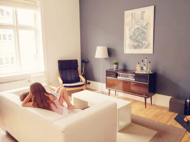Bright apartment (CPH15 min. bytrain) 22%off/month