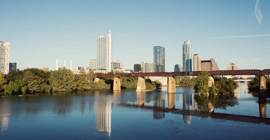 Charming 1 bedroom - 1 mile from downtown - Austin - Lejlighed