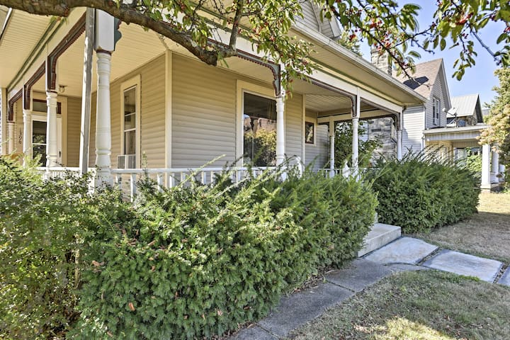 Charming Coshocton Apartment w/Deck & Private Yard