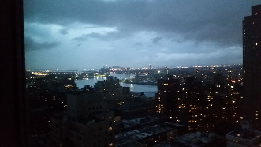 stormy summer eve