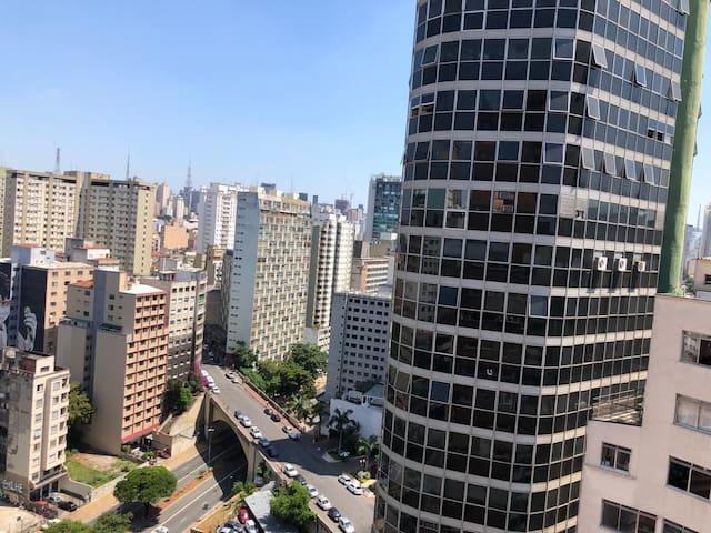 Apartamento charmoso em São Paulo próximo ao metrô