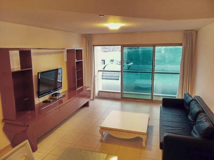 Herzliya, Marina, HaOgen, 4, 2 rooms apt, sea view