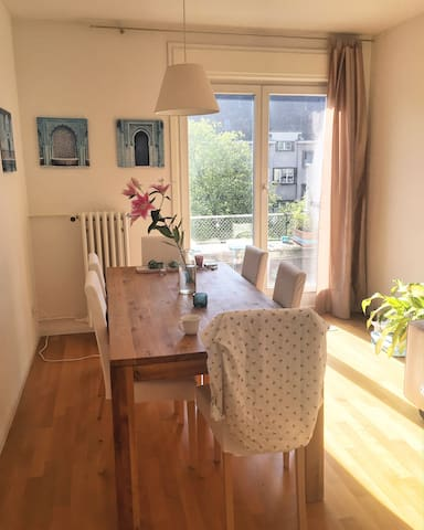 Adorable room in trendy and vibrant area of Zurich - Zürich - Condominium