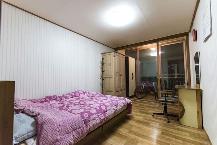 cozy room full of sunshine - gangbuk-gu, seoul, republic of Korea, 2101 ho 102 dong sk apt, seoul, seoul korea - Apartmen