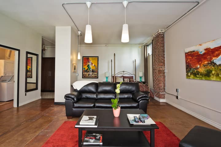 Furnished DTLA Loft available for monthly rental!