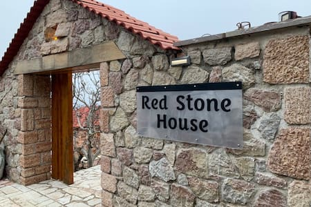 Red  Stone House