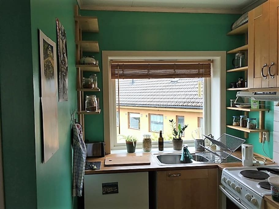 Cozy kitchen with all you need
