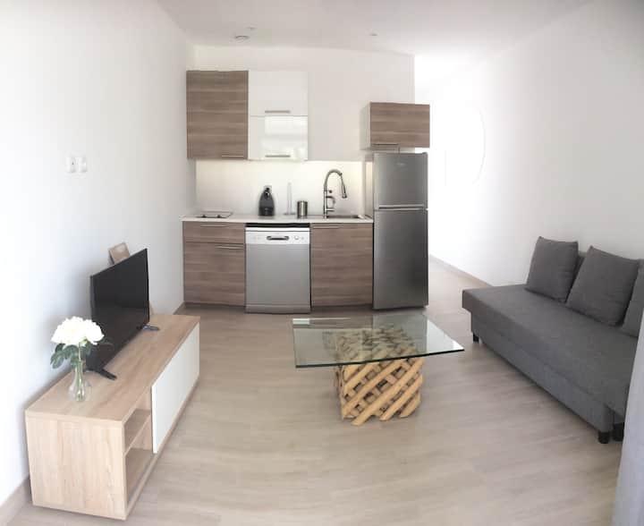Appartement à 50 metres de la PLAGE,Jacuzzi,Wifi#6