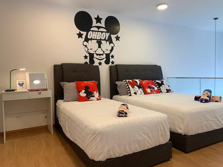 Mickey lover 米奇的家 KLCC View. Eko Cheras. SkyPool