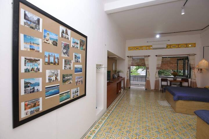 An homestay and Coffee family room