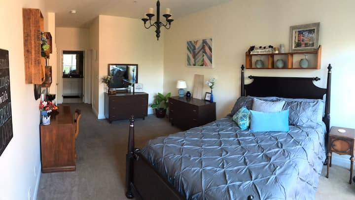 Spacious bedroom in heart of downtown Indianapolis