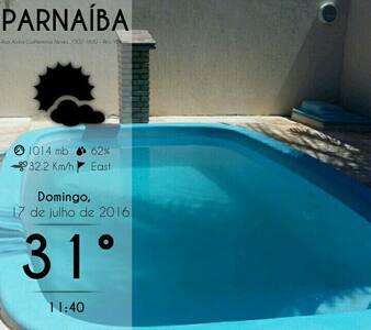 Quarto Clean  com ar condicionado - Parnaíba