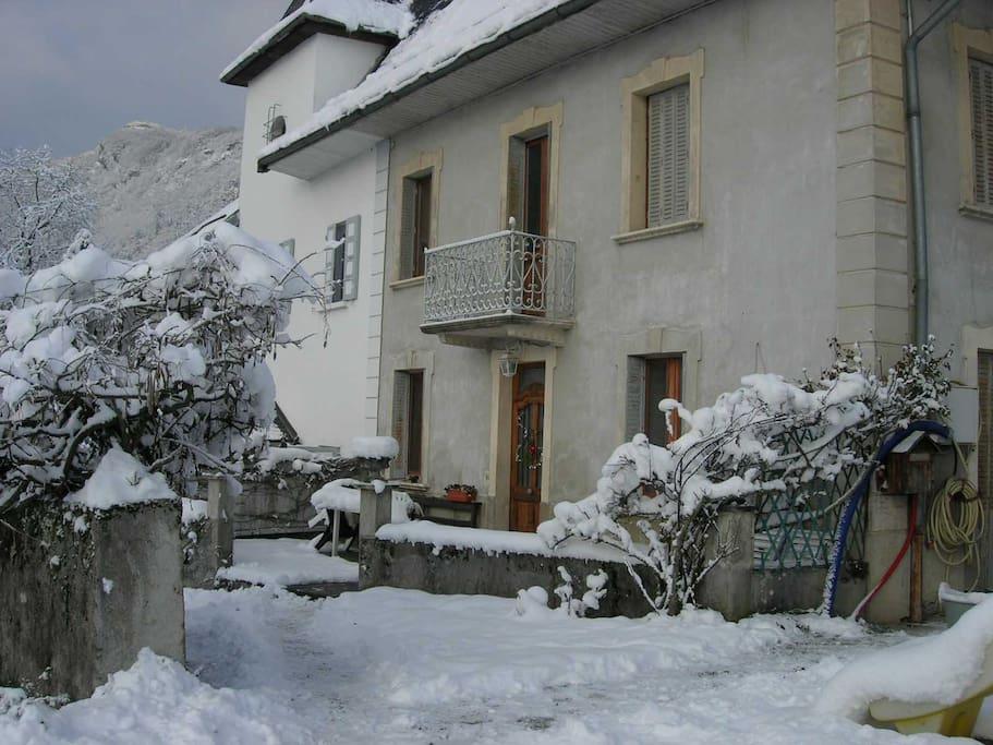 Parfois l'hiver il y a de la neige