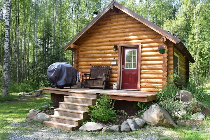 Comfy Cabin Nestled in the Woods