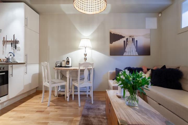 Stylish apt. in villa,  residential area, Oslo