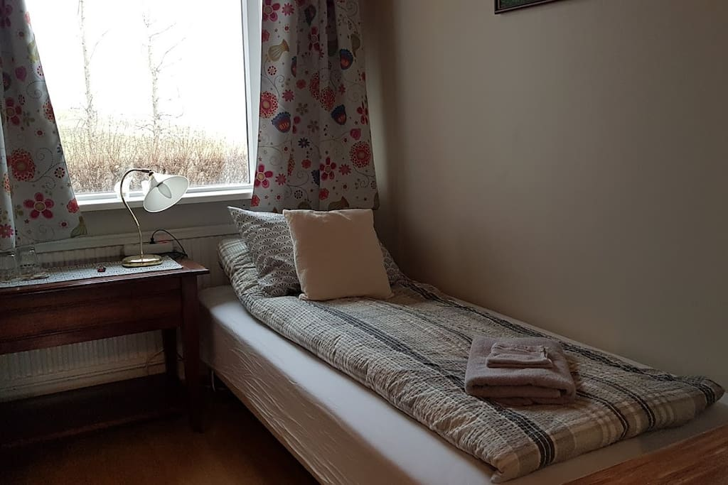 B3 is the smallest room we rent and the cheapest. There are 2 beds 90x200 cm.