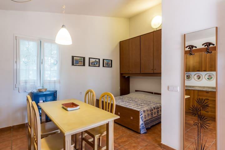 Camera con cucina e bagno privato - estudio