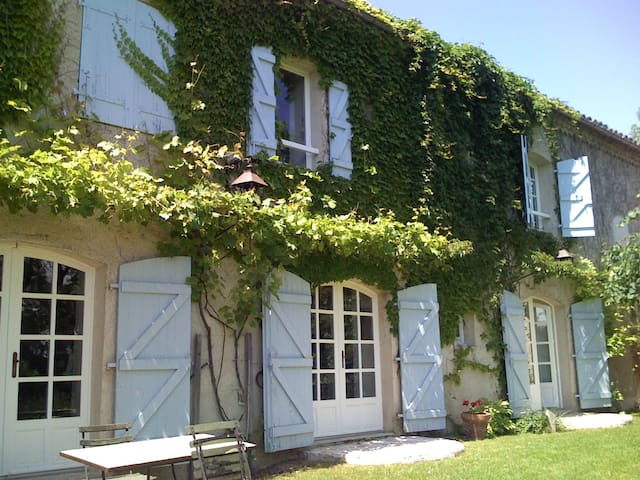La Borde Grande : chambre lavande - Montcuq - Bed & Breakfast